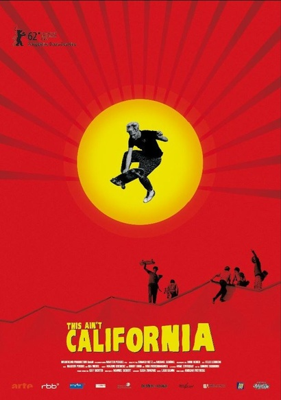 Film poster from This Ain't California. Image courtesy of Goethe Institut New Zealand.