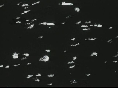Len Lye <em>Particles in Space</em> 1980, film still. Courtesy of the Len Lye Foundation. From material preserved and made available by Ngā Taonga Sound & Vision. Digital version by Park Road Post Production and Weta Digital Ltd.