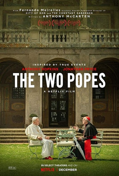 Film poster from <em>The Two Popes</em>
