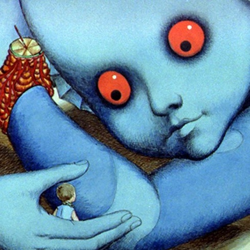 Film still from Fantastic Planet. Image courtesy of Park Circus Distribution.