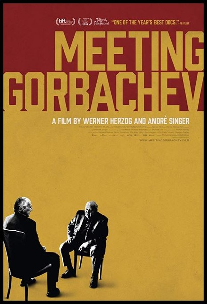 Film poster from <em>Meeting Gorbachev</em>