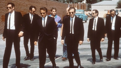 Film still from Reservoir Dogs. Image courtesy of Roadshow Distribution.