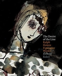 Cover of Dr Kriselle Baker's book <em>The Desire of the Line: Ralph Hotere Figurative Works</em>