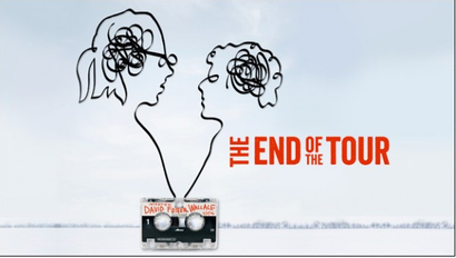 Film poster from <em>The End of the Tour</em>. Image courtesy of Roadshow Distribution.