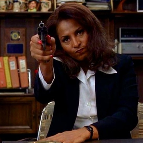 Film still from Jackie Brown. Image courtesy of Roadshow Distribution.