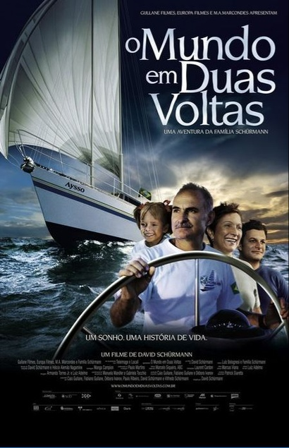 Film poster from <em>The World in Two Trips</em>. Image courtesy of The Brazilian Embassy of New Zealand.