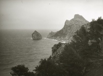 Unknown photographer, Rocky coastline of Majorca, c. 1920s