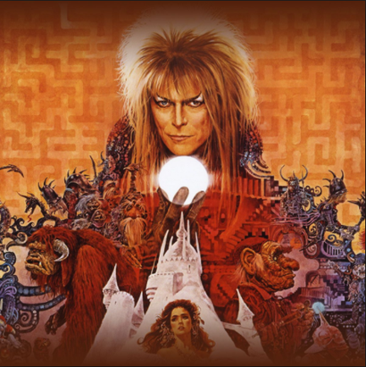Poster for <em>Labyrinth</em>. Image courtesy of Roadshow Distribution