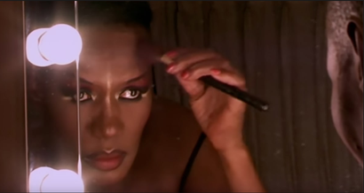 Film still from <em>Grace Jones: Bloodlight and Bami</em>. Image courtesy of Umbrella Entertainment