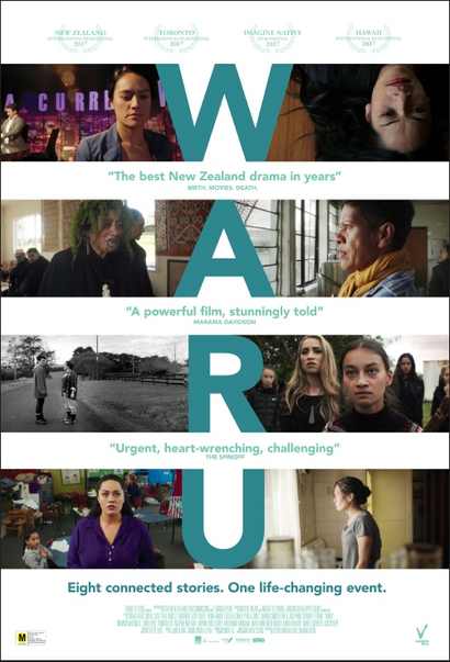 Poster for <em>Waru</em>. Image courtesy of Audience Films