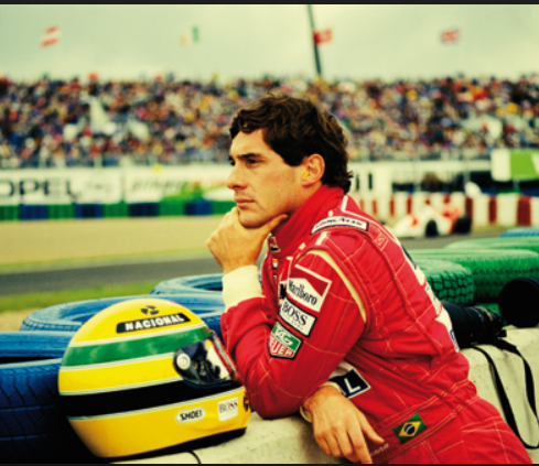 Film still from <em>Senna</em>. Image courtesy of the British Council
