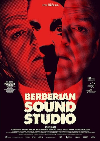 Film poster from <em>Berberian Sound Studio</em> Image courtesy of Madman Distribution.