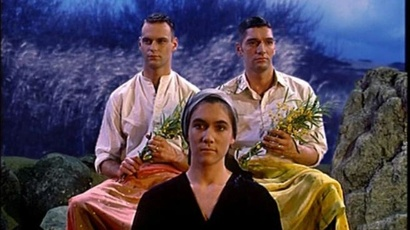 Film still from The Garden. Image courtesy of British Council New Zealand.