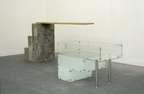 Maree Horner <em>Diving Board</em> 1974-98. Govett-Brewster Art Gallery Collection