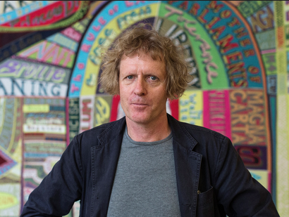 Film still from <em>Grayson Perry Who are you?</em> Image courtesy of the British Council