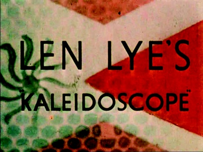 Len Lye <em>Kaleidoscope</em> 1935, digital transfer from 35mm. Courtesy of the Govett-Brewster Art Gallery Collection. From material made available by the Museum of Modern Art, New York and preserved by Ngā Taonga Sound & Vision