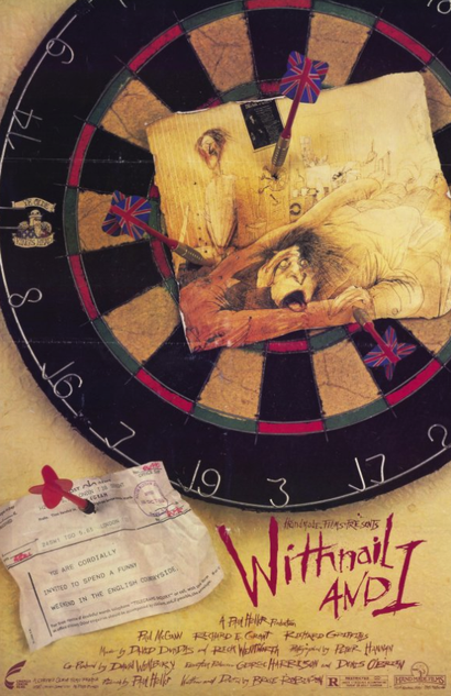 Film poster from Withnail and I. Image courtesy of  Handmade Films.