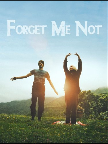Film poster from <em>Forget Me Not</em>. Image courtesy of Goethe-Institut New Zealand