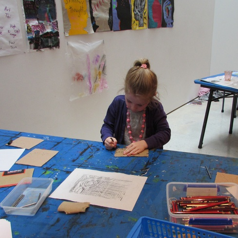 Govett-Brewster Art Gallery school holiday art