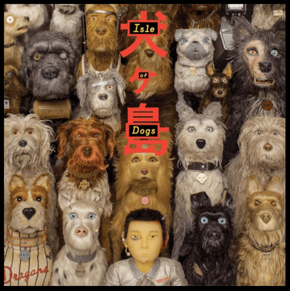 Film poster from <em>Isle of Dogs</em>. Image courtesy of Fox Searchlight Distribution.