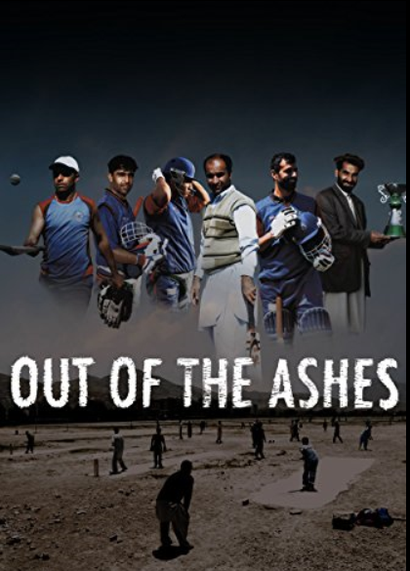 Poster for <em>Out of the Ashes</em>. Image courtesy of the British Council
