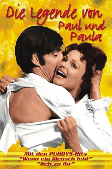 Film poster from <em>The Legend of Paul and Paula</em>. Image courtesy of Goethe-Institut New Zealand