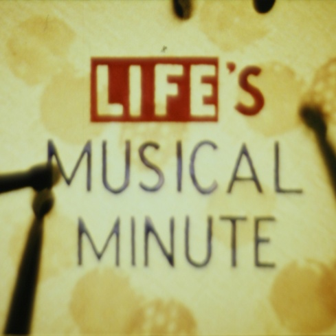 Len Lye <em>Life's Musical Minute</em> 1953. Courtesy of the Len Lye Foundation. From material made available by the Museum of Modern Art, New York, and preserved by Ngā Taonga Sound & Vision