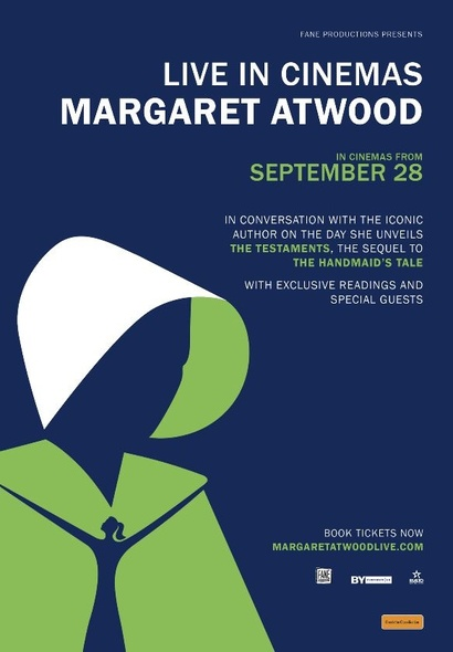 <em>Margaret Atwood Live in Cinemas</em>. Image courtesy Rialto Distribution