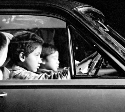 Film still from <em>Two Cars, One Night</em> Image courtesy of New Zealand Film Commission