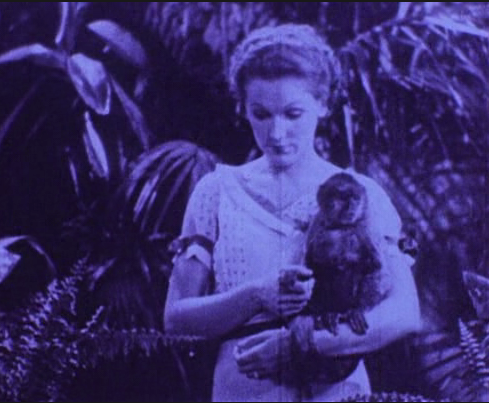 Film still from <em>Rose Hobart</em>. Courtesy of Light Cone, Paris