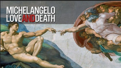 Poster for <em>Michaelangelo: Love and Death</em>. Image courtesy of Rialto Distribution
