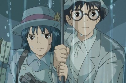 Film still from The Wind Rises. Image courtesy of Madman Entertainment.