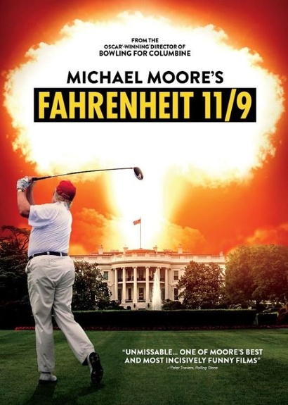 Film poster from Fahrenheit 11/9. Image courtesy of Madman Films.