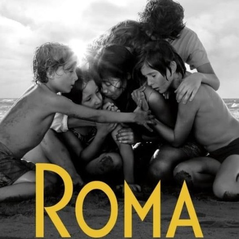 Film poster from Roma. Image courtesy of Rialto Distribution.