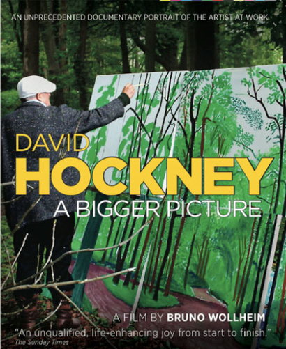 Poster for <em>David Hockney: A Bigger Picture</em>