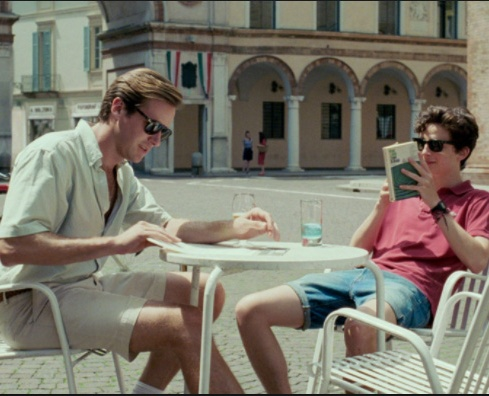 Film still from <em>Call Me By Your Name</em>. Image courtesy of Sony Distribution