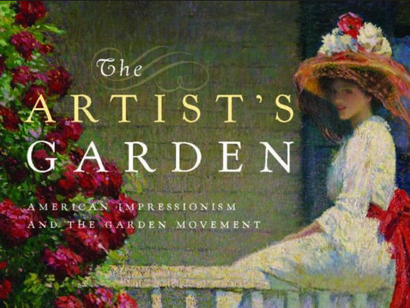 Poster for <em>The Artists Garden: American Impressionism</em>. Image courtesy of Rialto Distribution