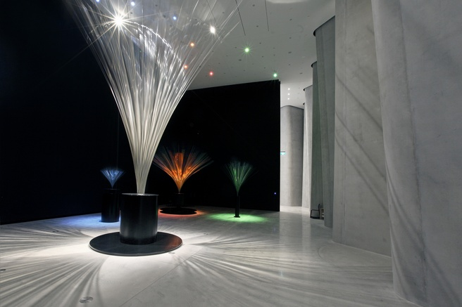 <em>Len Lye: Four Fountains</em> at Govett-Brewster Art Gallery/Len Lye Centre (2015). Image Glenn Jeffrey