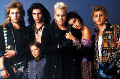 Film still from <em>The Lost Boys</em>. Image courtesy of Roadshow Distribution.