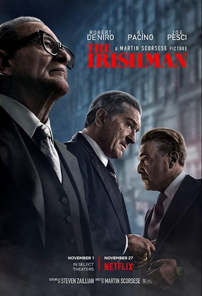Film poster from <em>The Irishman</em>