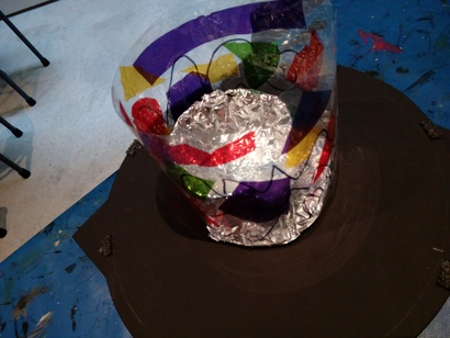 Get creative with cellophane, paper and fabric at School Holiday Art