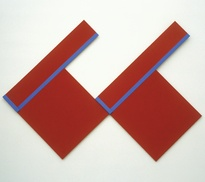 Don Peebles <em>Painting No.9</em> 1969, acrylic on canvas. Govett-Brewster Collection