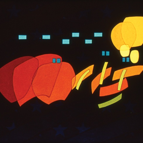 Oskar Fischinger <em>An American March</em> 1941, digital transfer from 35mm. Courtesy of the Center for Visual Music