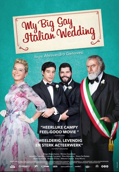 Film poster from <em>My Big Gay Italian Wedding</em>