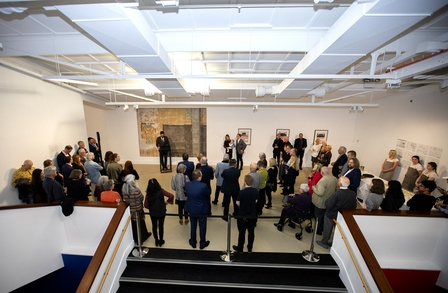 At the Govett-Brewster Foundation's Partners, Patrons and Guests Exhibition Preview on Thursday 8 August 2019. Photo Andy Jackson
