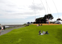 Six waving wands to be installed along New Plymouth Coastal Walkway