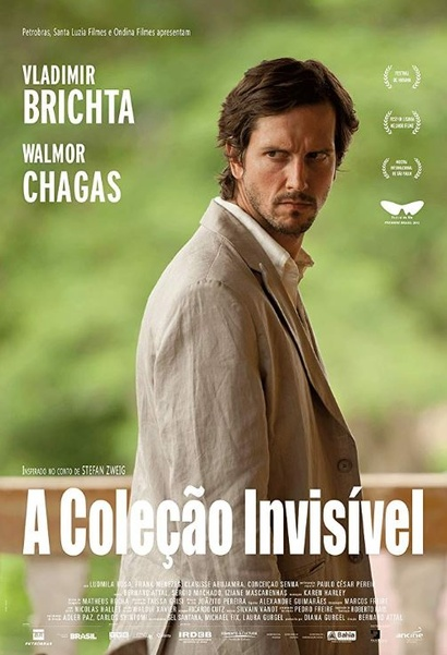 Film still from <em>The Invisible Collection</em>. Image courtesy of The Brazilian Embassy of New Zealand.