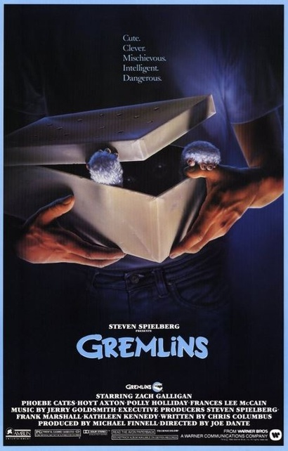Film poster from <em>Gremlins</em>