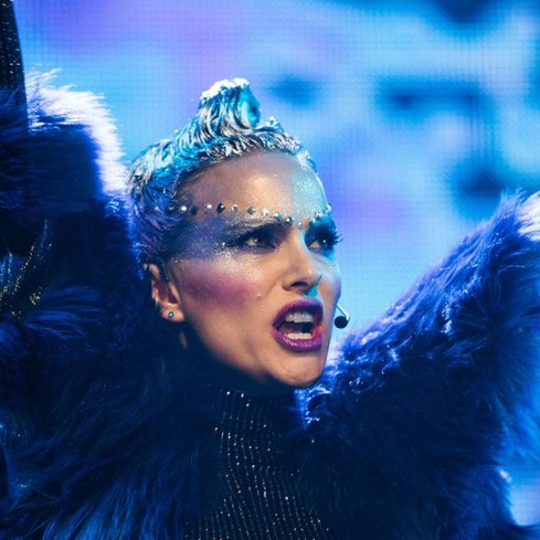 Film still from Vox Lux. Image courtesy of Madman Films.