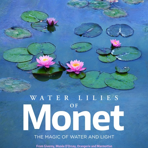 Film poster from <em>Water Lillies of Monet: The Magic of Water and Light</em>